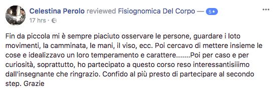 Recensione Fisiognomica Celestina