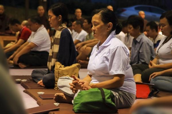 Gruppo di meditazione cinese
