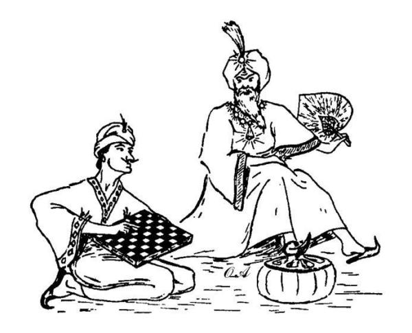 Sissa porta scacchi al re leggenda
