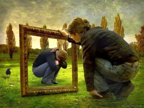 specchio interiore